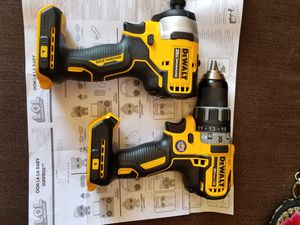 DEWALT 20-Volt MAX Lithium-Ion Cordless Brushless Drill XR. And Impact Atomic for Sale in Phoenix, AZ