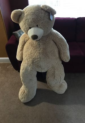 53 Inch Plush Teddy Bear for Sale in Sanger, CA