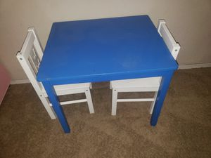 Kids table and chairs for Sale in Laveen Village, AZ