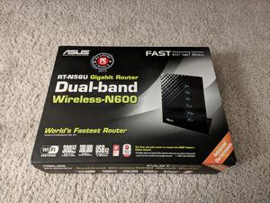 Asus RT N56U Router for Sale in Cupertino, CA