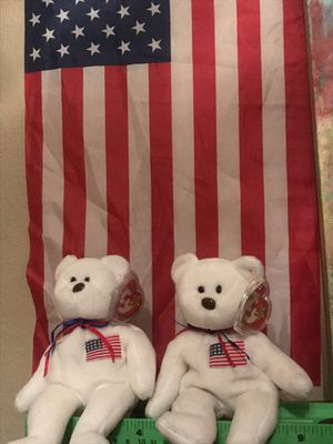 Ty Beanie Babies - 1996 presidential election & Atlanta Games collectibles for Sale in Dallas, TX