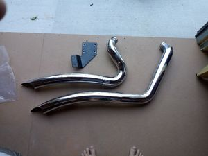 Harley Davidson Softail Custom exhaust for Sale in Parkville, MD