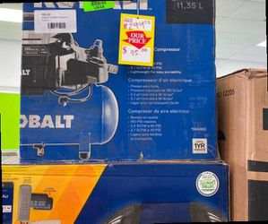 Kobalt LK3197 Air Compressor 😃😃😃 M ID for Sale in China Spring,  TX