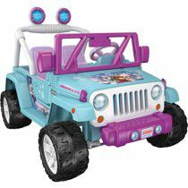 Power Wheels Disney Frozen Jeep Wrangler 12-V Ride On for Sale in Victoria, TX