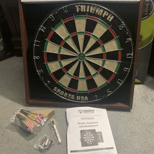 Triumph Official Dartboard Never Used for Sale in Fort Lauderdale, FL