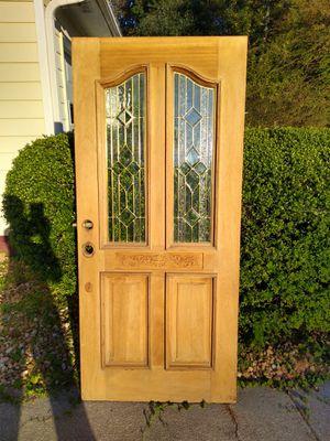 Solid Red Oak Door for Sale in Stockbridge, GA