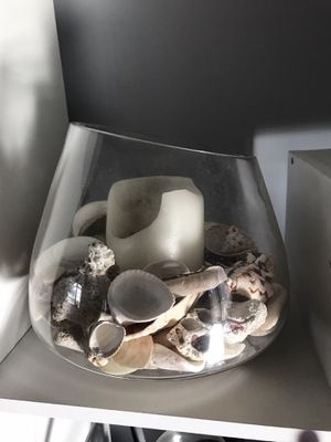 Candle holder with sea shell for Sale in Essex, MD