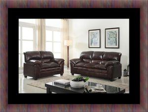 Burgundy sofa and loveseat for Sale in Fairfax, VA