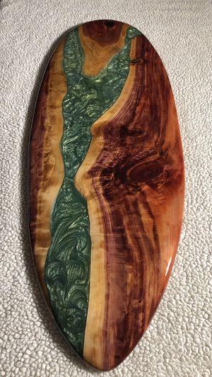 Cedar, Resin decorative surfboard for Sale in Clearwater Beach, FL