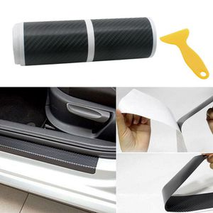 Accessories Carbon Fiber Car Scuff Plate Door Sill 4D Sticker Panel Protector (scuffplate-USA) for Sale in Riverside, CA