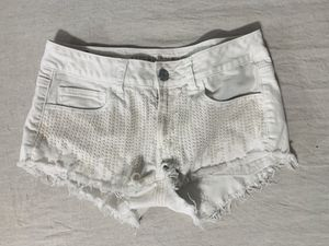 America eagle white fringe shorts. for Sale in Hollywood, FL
