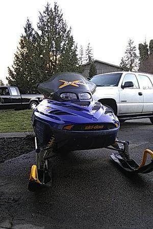 Skidoo snowmobile for Sale in Puyallup, WA