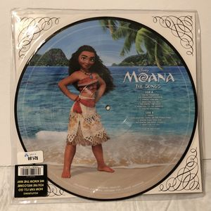 EUC Disney's Moana Movie Soundtrack Record Vinyl Album for Sale in Freehold, NJ