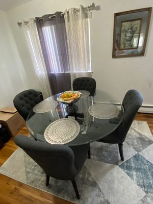 Glass Dining Table for Sale in West Islip, NY