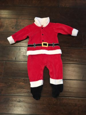 Santa costume onesie baby clothes size 6 months for Sale in Gilbert, AZ