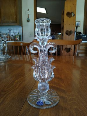 Beautiful crystal candle holder for Sale in Richardson, TX