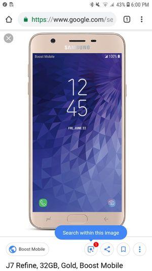 Samsung Galaxy J7 Refine Boost Mobile for Sale in Vancouver, WA