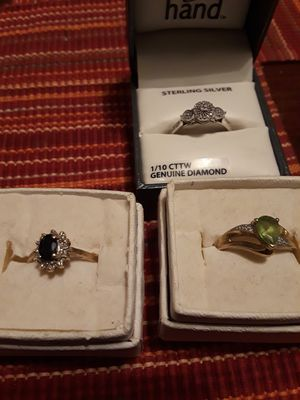 Diamond, black onyx, amethyst I beleve for Sale in Shelbyville, IN