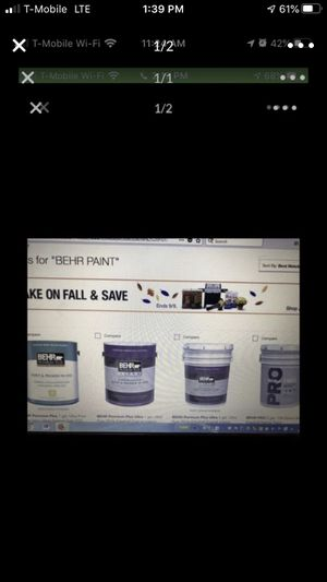 20 percent discount off all BEhr paint and Kilz primer at any Home Depot Contact me for free coupon code valid at any Home Depot location in store pu for Sale in Plano, TX