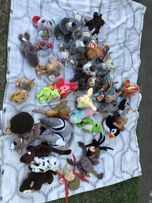 Beanie babies/stuffed animals-$1 each-great condition! for Sale in Pico Rivera, CA