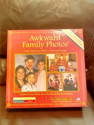 Awkward family photos board games for Sale in Smyrna, TN