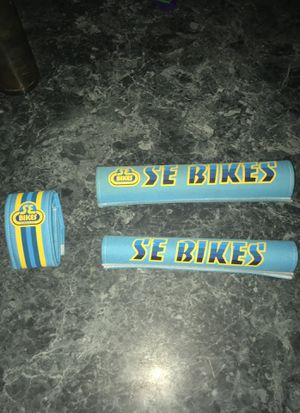 SE Bike Accessories — Padsets — Blue and Yellow for Sale in Queens, NY