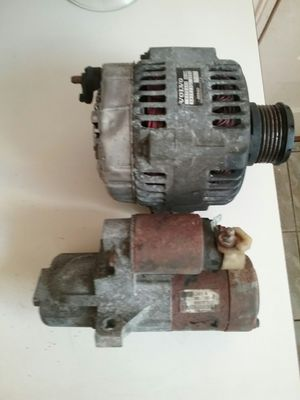 00 Volvo s40 alternator and 03 mazda 6 starter for Sale in Waterbury, CT