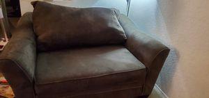Love seat, dark olive green for Sale in San Diego, CA
