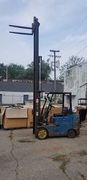 Mitsubishi FGC25 TriMast 5000lb Forklift for Sale in Cleveland, OH