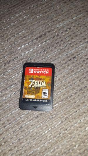 Legend of zelda Nintendo switch for Sale in Denver, CO