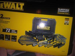 242 pc dewalt socket set for Sale in Montrose, CO