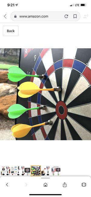 GIGGLE N GO Magnetic Dart Board and Basketball Game - 2 Fun Kids Games in 1 for Sale in Smyrna, TN