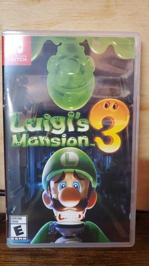 Luigi's Mansion 3 for Sale in Gurnee, IL