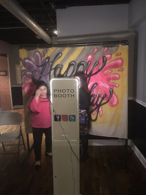 Photo booth! Custom backdrop and props for Sale in Philadelphia, PA