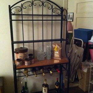 IRON WINE RACK FROM Pier 1 Import for Sale in Miami, FL