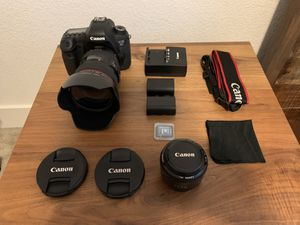 Canon EOS 6D DSLR Camera + Lenses & Accessories for Sale in Citrus Heights, CA