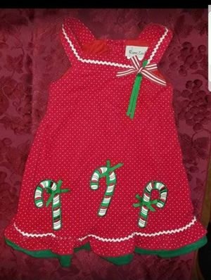 New Girls Size 3T Christmas Candy Cane Dress for Sale in Westport, CT