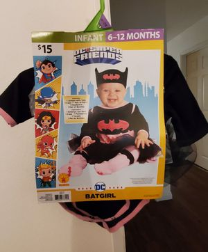 Infant 6-12 Months Bat Girl costume brand new for Sale in San Diego, CA