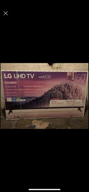 LG 60 inch smart tv 4k for Sale in Los Angeles, CA