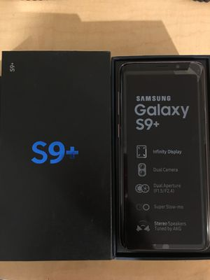 Samsung Galaxy S9+ Unlocked. for Sale in Queens, NY