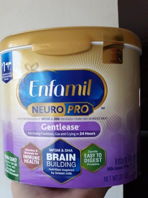 Enfamil gentlese 20.onz 5 available or trade for enfamil 2 12.onz for Sale in South Gate, CA