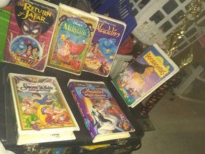Original VHS Disney movies still unplayed very rare for Sale in Wichita, KS