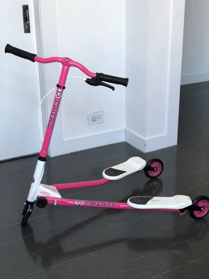 Fliker F1 three wheeled pink scooter for Sale for sale  New York, NY