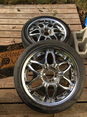 """Two Tires & 22"""" Rims Used for Sale in Belmont, NC"""