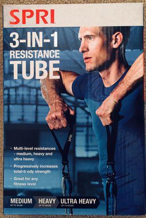 SPRI 3 in 1 Resistance Tube for Sale in Westminster, CA