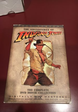 Indiana Jones movie series for Sale in Granville, OH