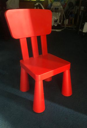Red kids chair for Sale in Lakewood, OH