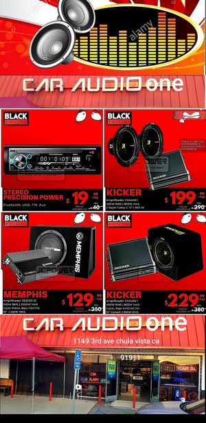 Car audio system Package for Sale in San Diego, CA