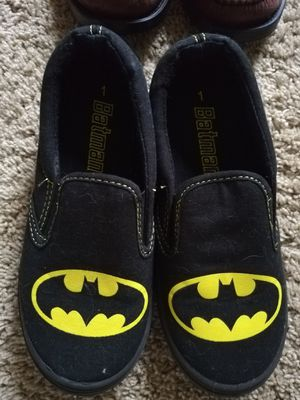 Batman boys shoes for Sale in Chantilly, VA
