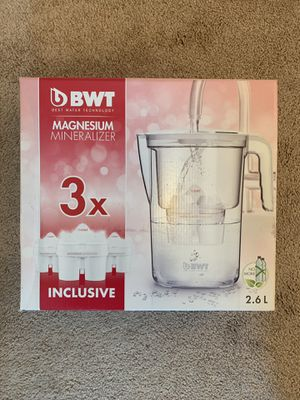 Never used water filter pitcher for Sale in Washington, MD